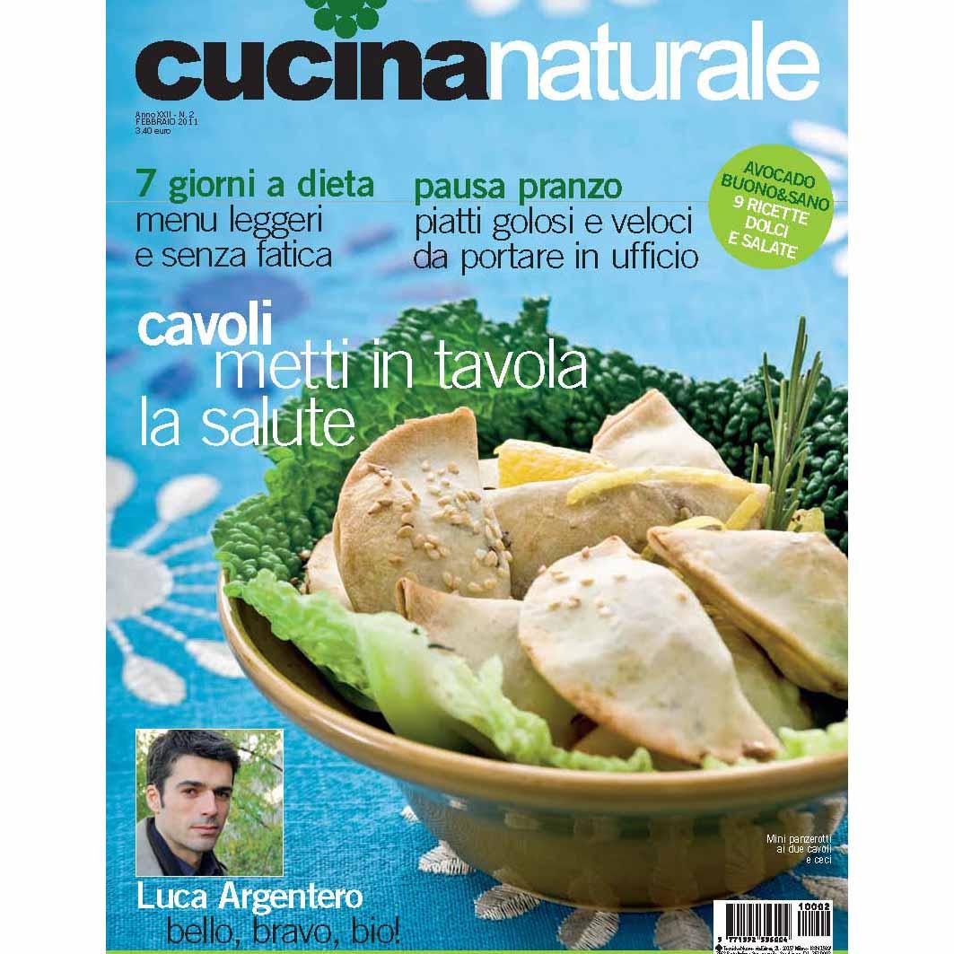 Cucina Naturale di febbraio: cavoli, avocado, pausa pranzo naturale
