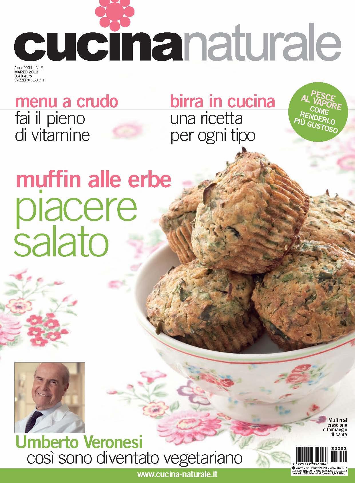 Cucina Naturale di marzo: Il prato in cucina