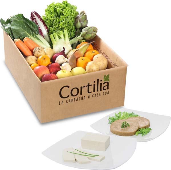 Cortilia, - Anche la cassetta vegan nel primo mercato agricolo online