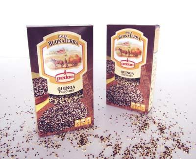 Pedon - Quinoa, la madre di tutti i semi, in un mix di tre colori