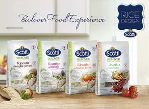 Riso Scotti Biolover - Riso Scotti si dà al bio con una nuova linea di risi e risotti