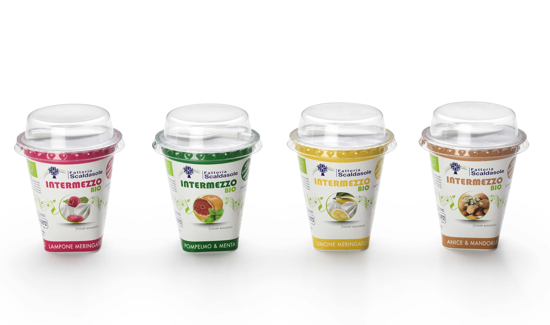 Fattoria Scaldasole - Intermezzo BIO la nuova linea di yogurt