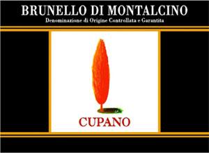 Azienda vinicola Cupano - Brunello di Montalcino