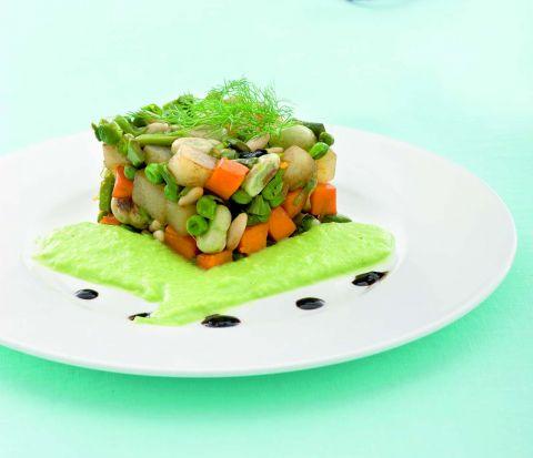 Menu vegetariano - Verdissima Pasqua