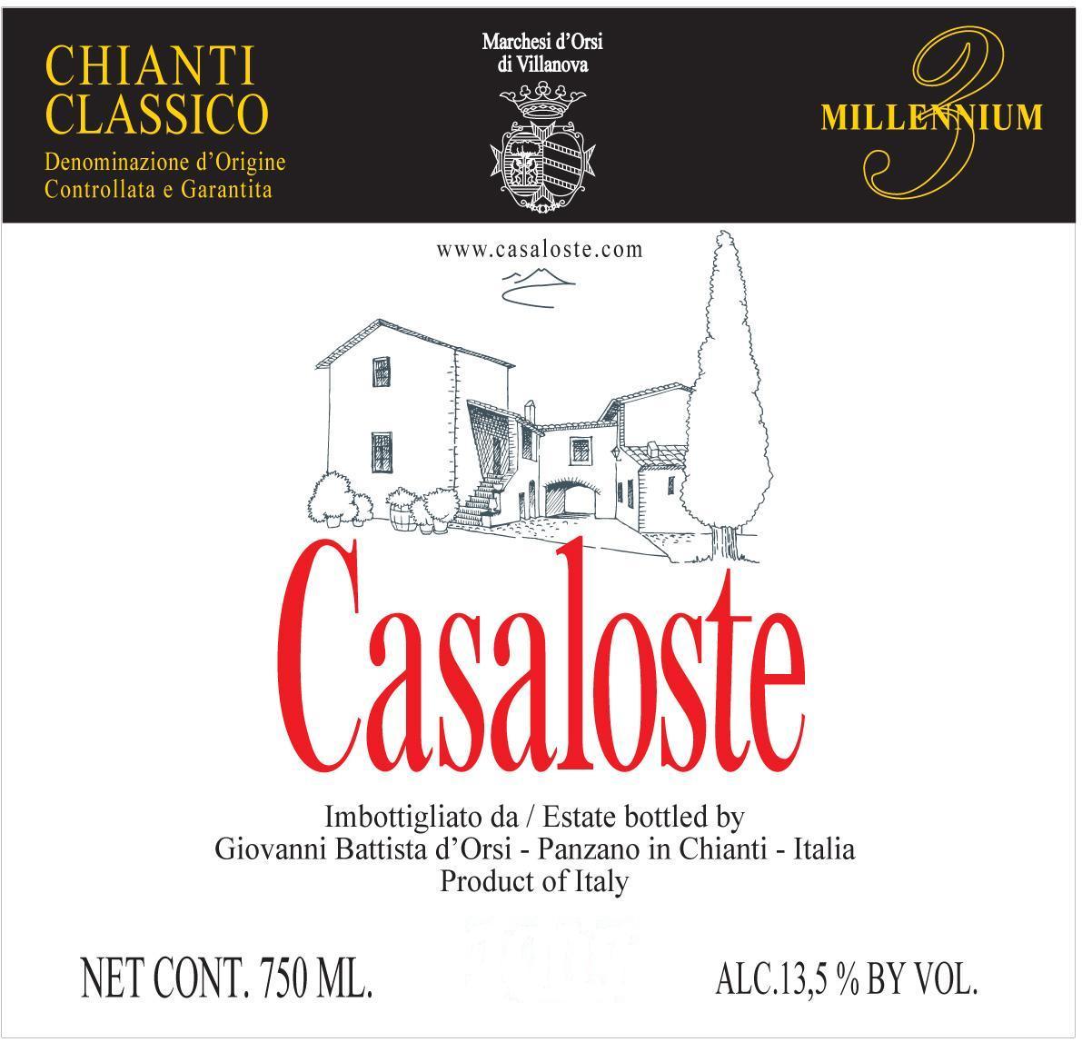 Fattoria Casaloste - Chianti Classico