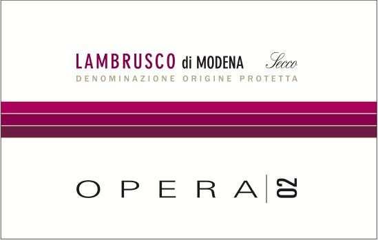 Opera 02 di Ca' Montanari - Lambrusco antico e nuovo