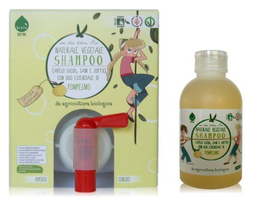 Biolù - Shampoo bimbi biologico