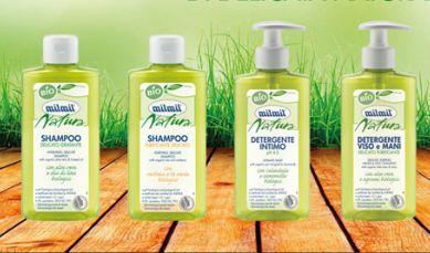 Mil Mil Natura Bio - Shampoo Purificante Delicato Bio