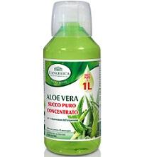 Istituto Erboristico L'Angelica  - Aloe vera succo puro concentrato