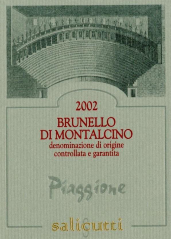 Azienda vinicola Podere Salicutti - Brunello di Montalcino Piaggione