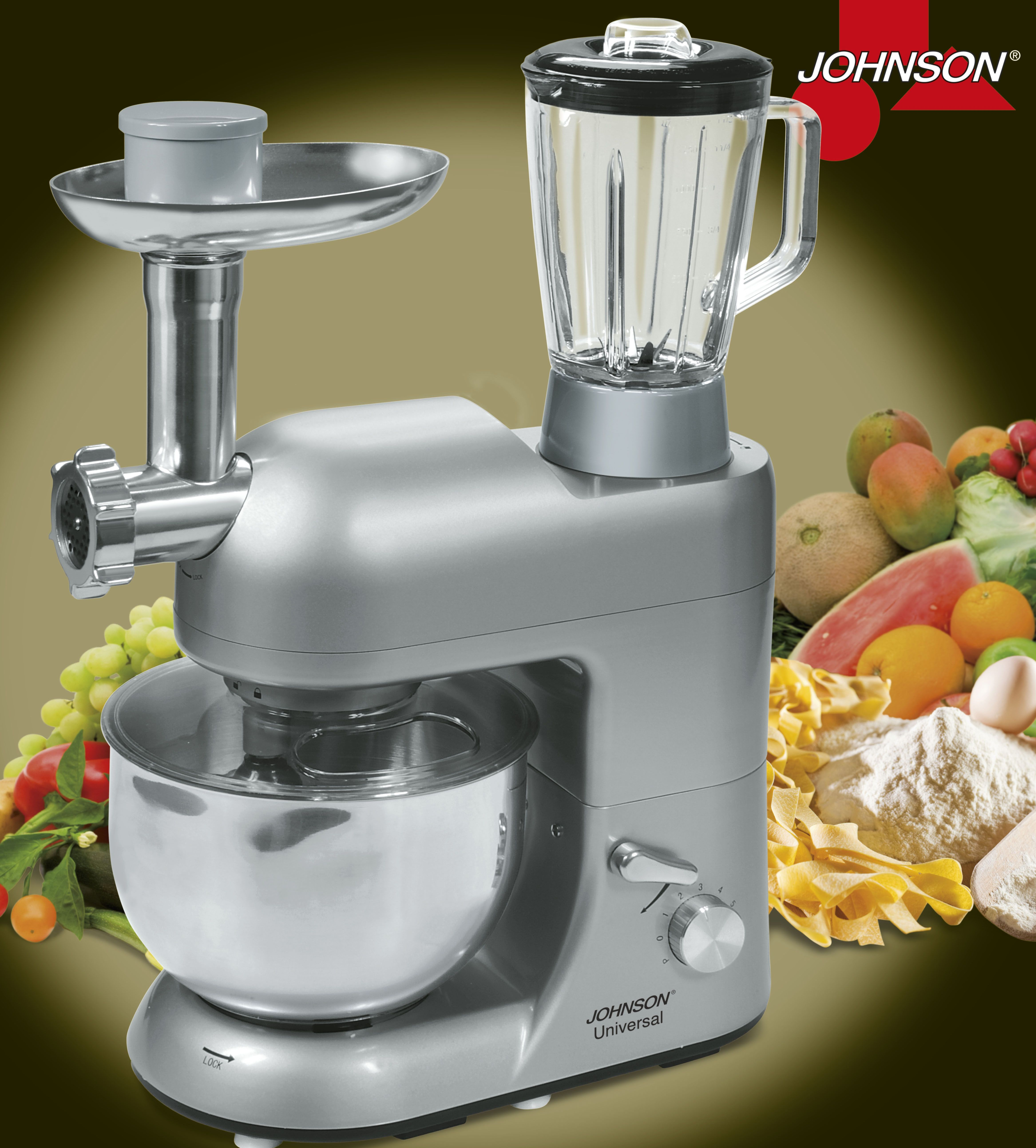 universal: robot da cucina - cucina naturale - Macchine Da Cucina