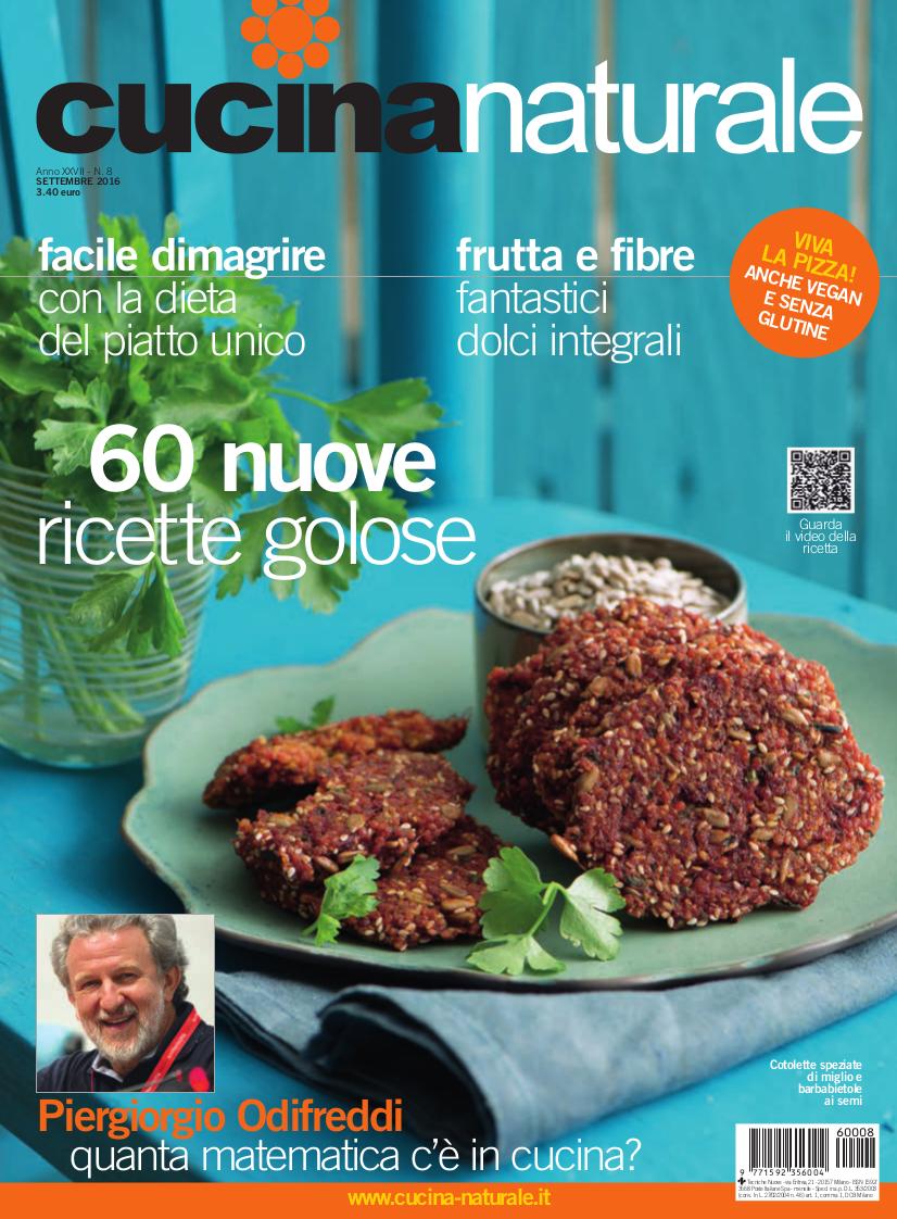 Cucina Naturale di settembre: Un numero... ricchissimo!