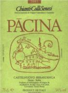 Azienda vinicola Pacina - Chianti Colli Senesi