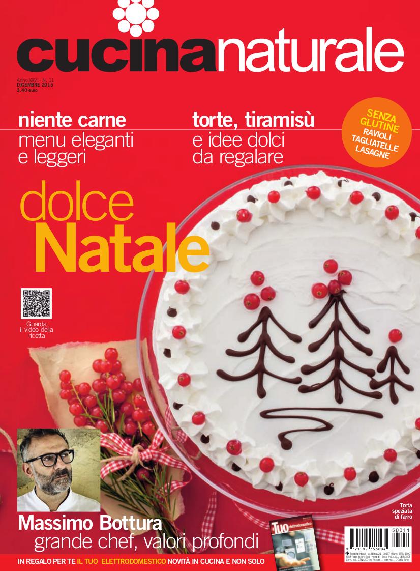 Cucina Naturale di dicembre: Un super Natale con noi!