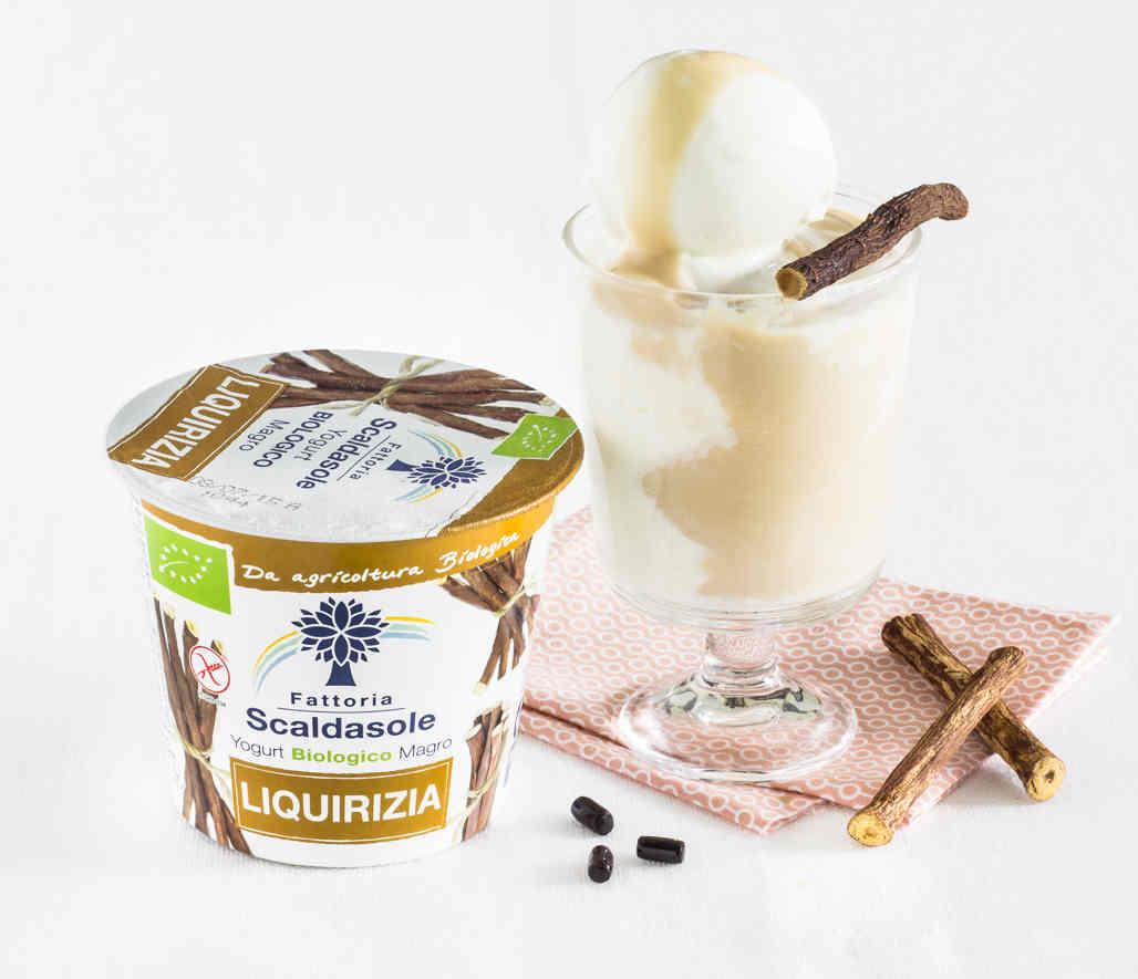 Fattoria Scaldasole - Yogurt magro bio alla liquirizia