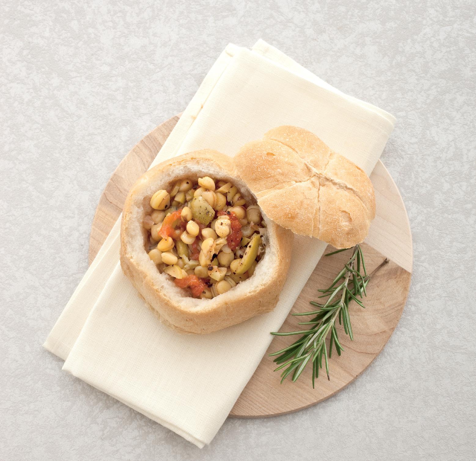 Primi al cucchiaio - Le zuppe con il pane