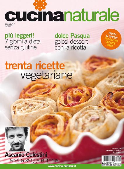 Cucina Naturale di aprile: asparagi & C., ricchi primi piatti, carote originali, dolci leggeri per Pasqua