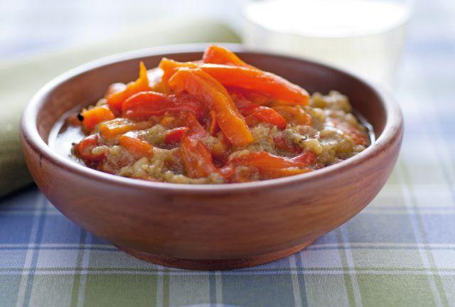 Salsa di peperoni all'aglio