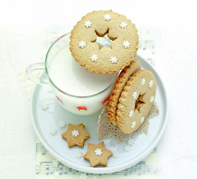 Biscotti di avena e mandorle al limone