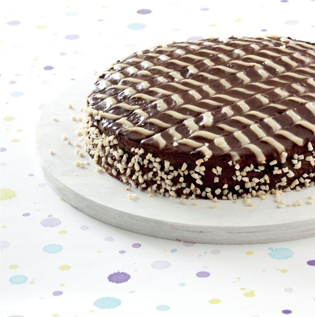 Torta di cioccolato e crema