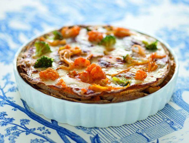 Lasagne vegetariane con ortaggi invernali
