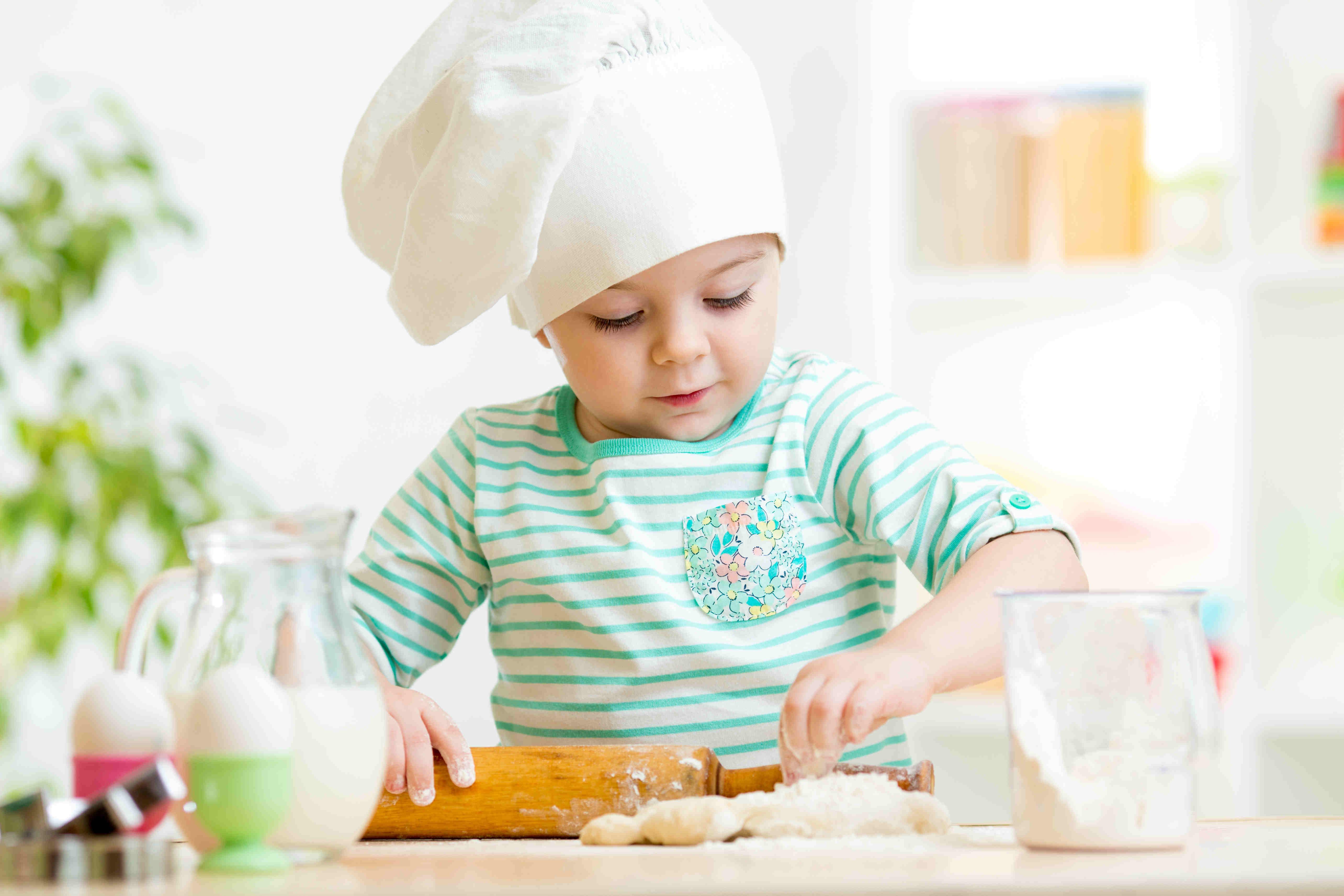 Bambini in cucina - Piccoli pasticcieri di fine estate