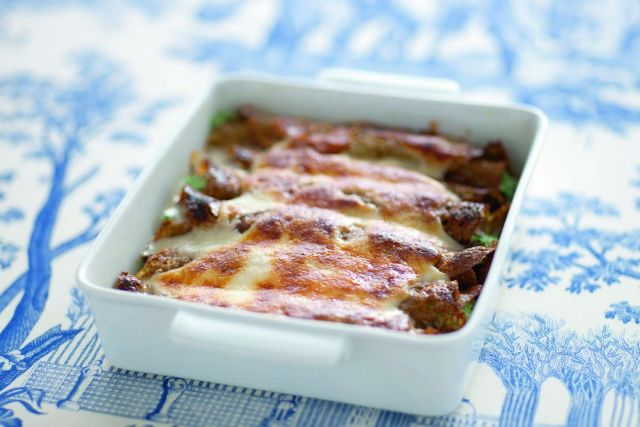 Cannelloni di grano saraceno con ricotta e spinaci