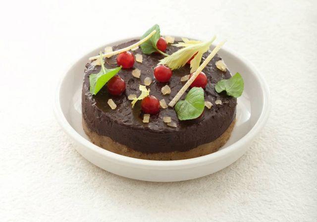 Crema di cioccolato fondente alle mandorle