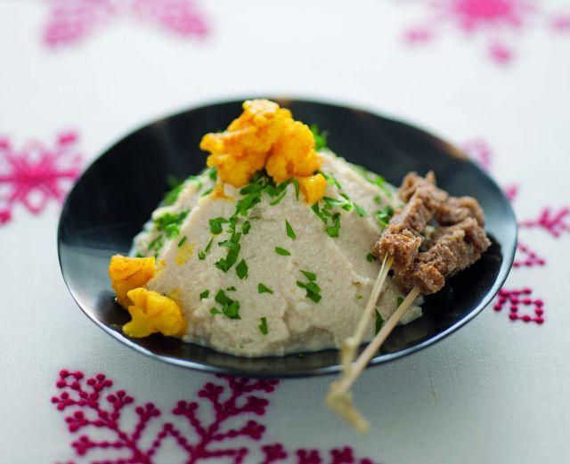 Paté agrodolce di cavolfiore e tofu allo zenzero