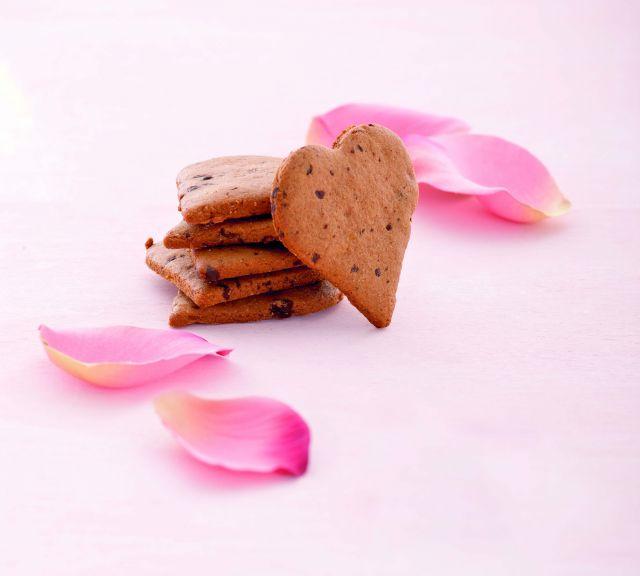 Cuori al cioccolato e zenzero
