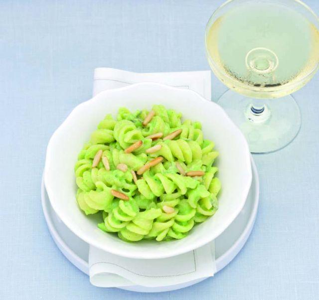 Fusilli in crema di broccoletti e gorgonzola