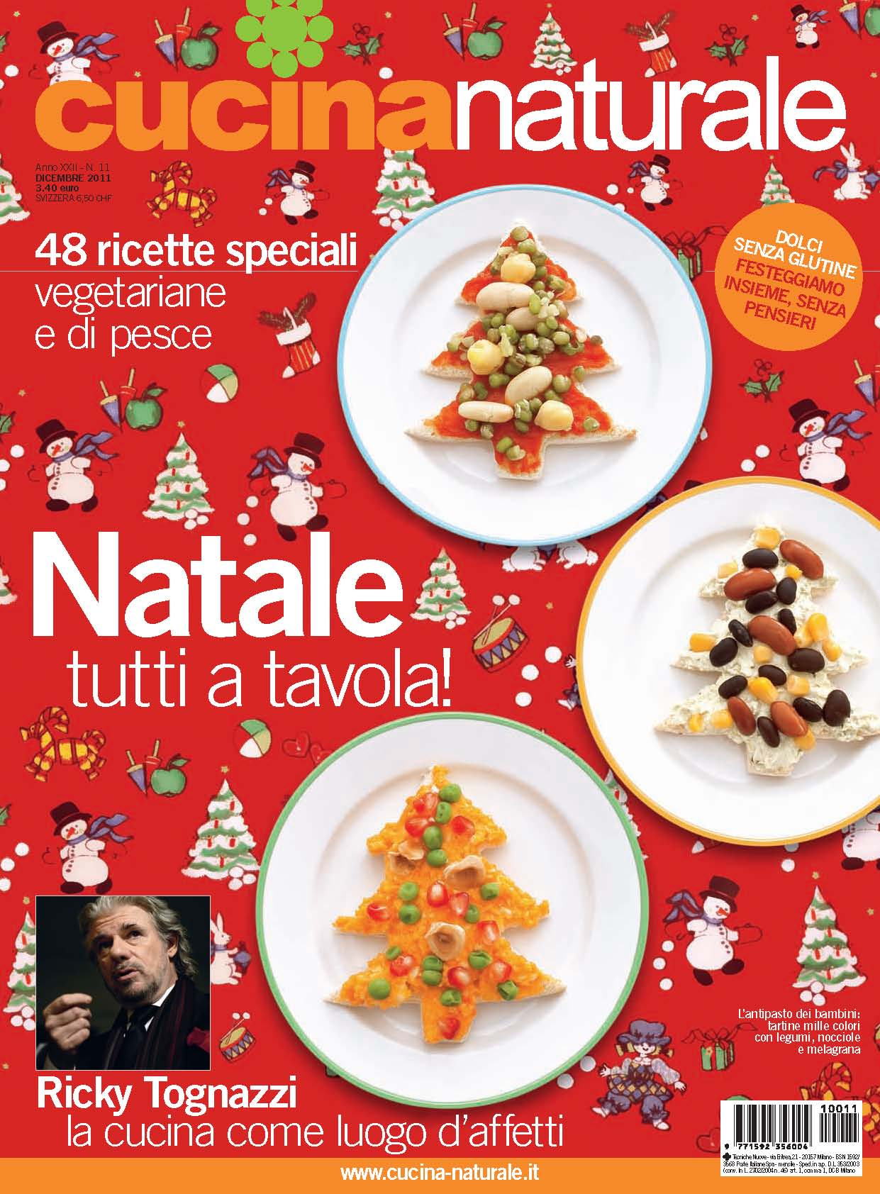 Cucina Naturale di dicembre: Natale tutti a tavola!