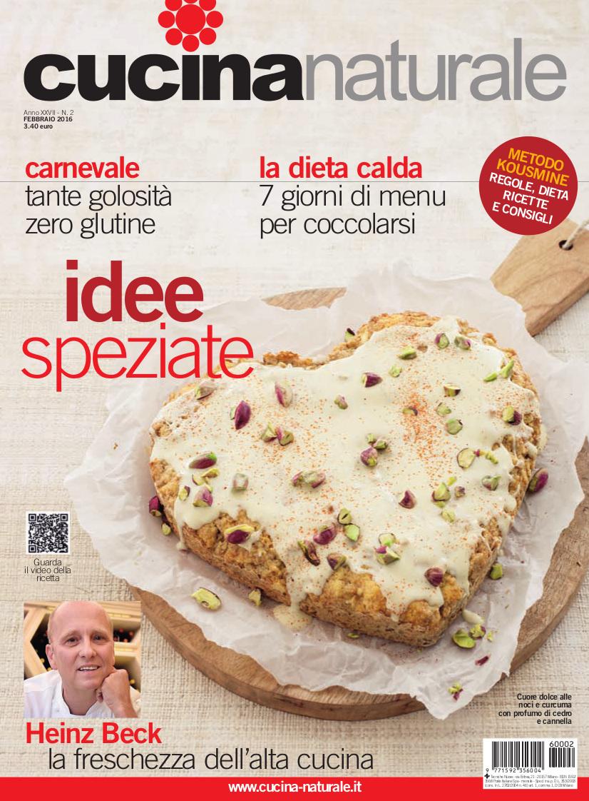 Cucina Naturale di febbraio: Carnevale senza glutine e ingredienti originali...