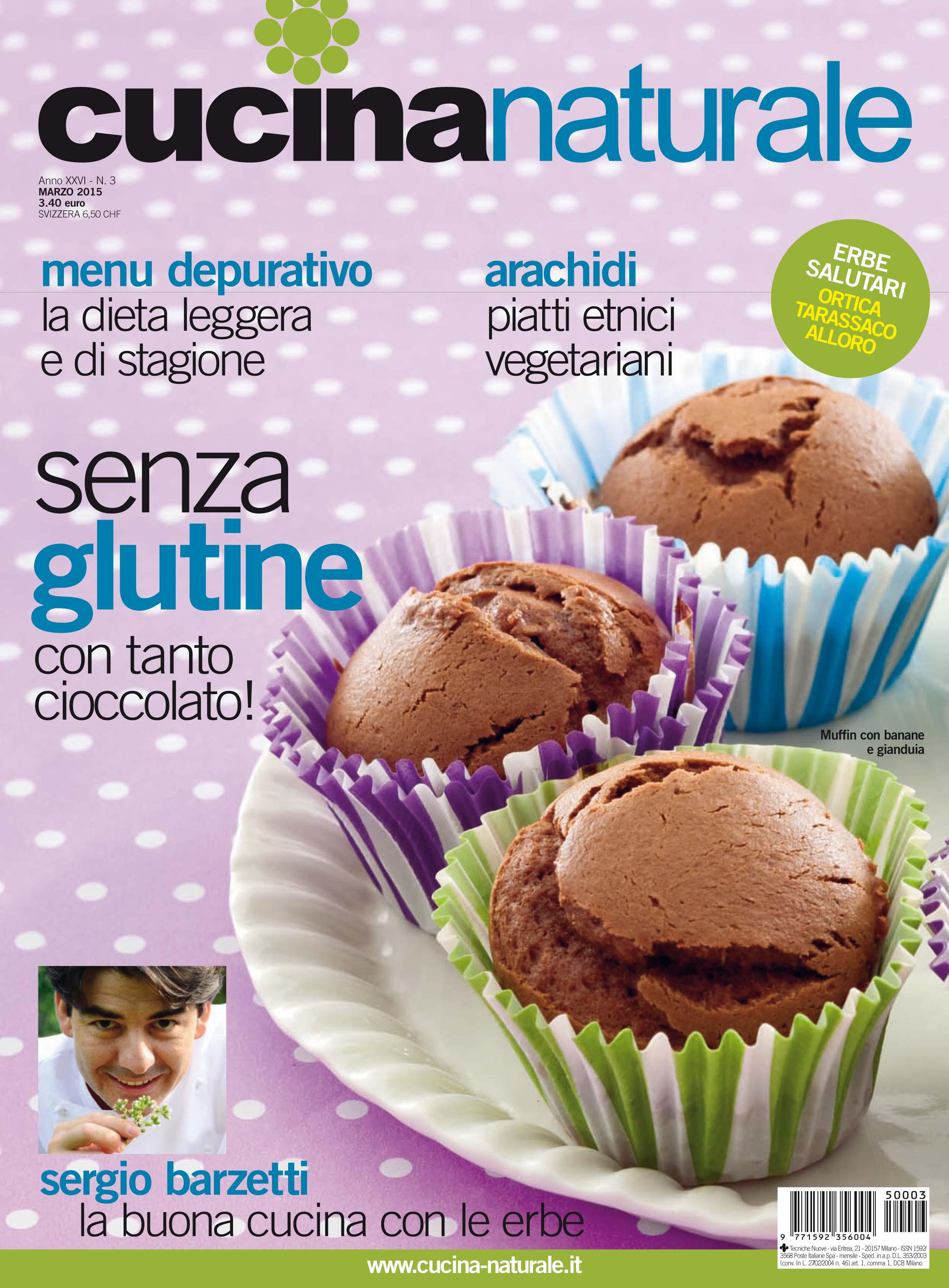 Cucina Naturale di marzo: erbe, dolcetti e...