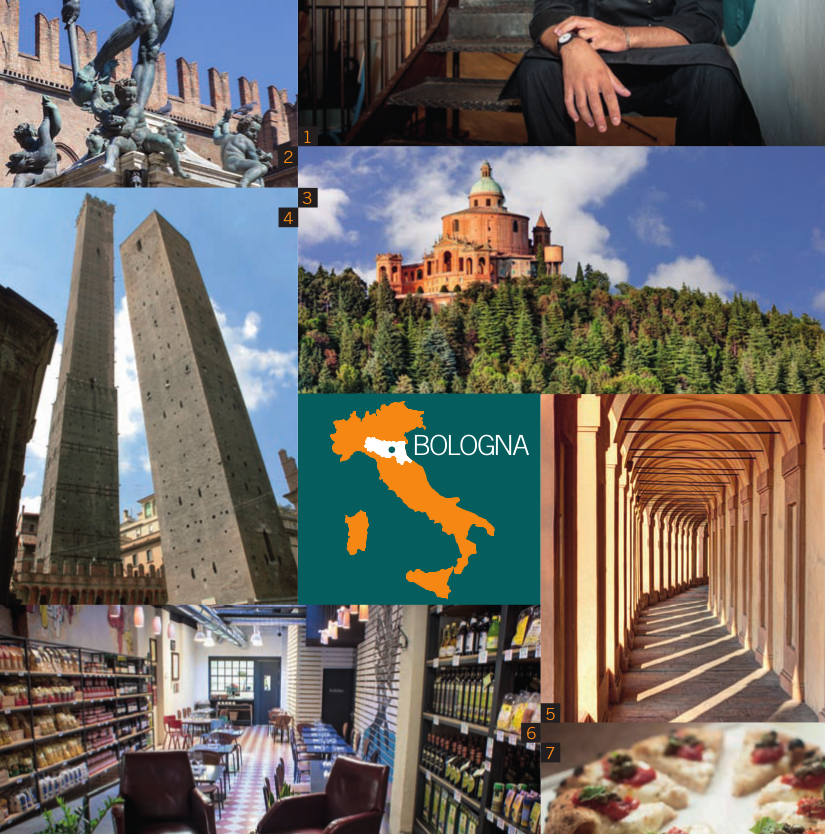 Gita a Bologna  - Bologna, città per tutti i gusti