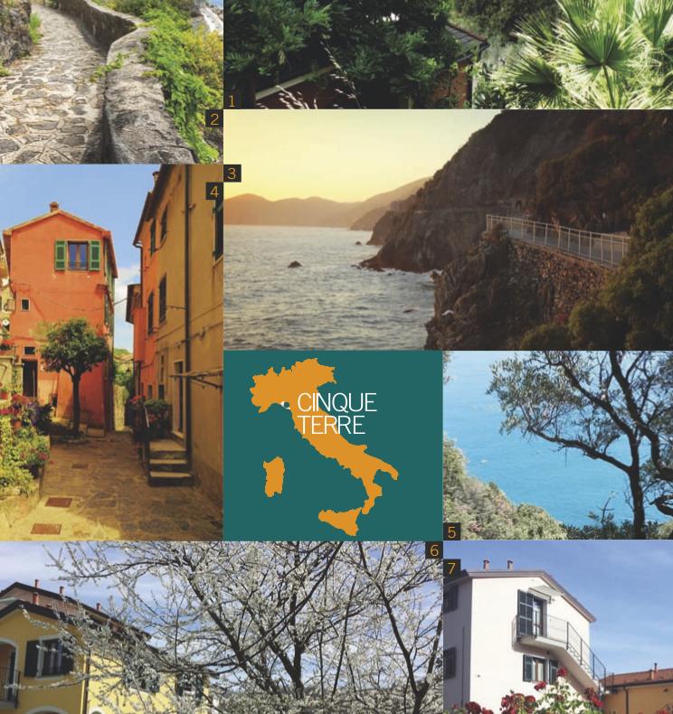 Io viaggio bio - Incantevoli Cinque Terre