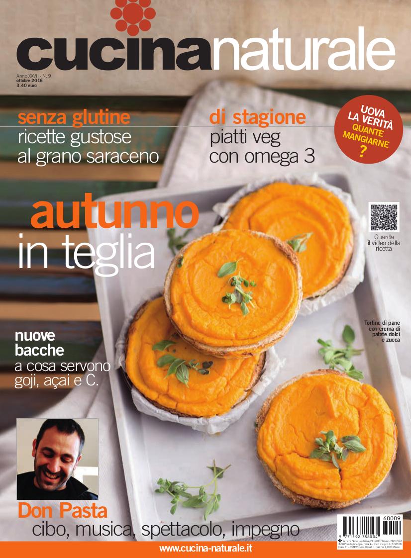 Cucina Naturale di ottobre: Sapori e saperi