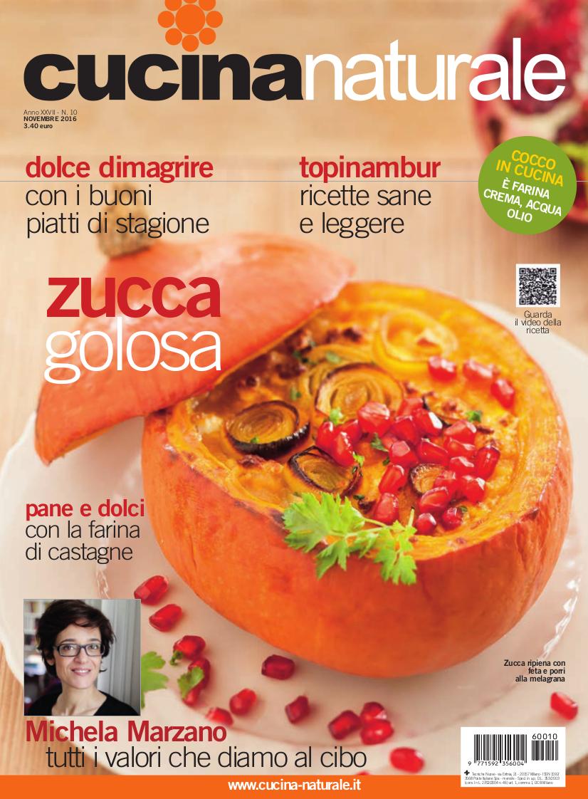 Cucina Naturale di novembre: Il piacere di star bene