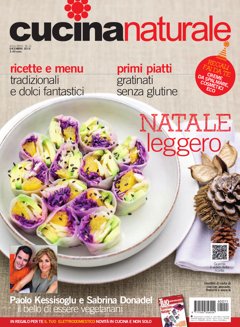 Cucina Naturale di dicembre: La festa più buona