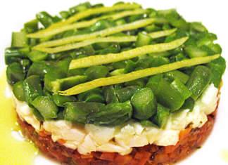 Tartare vegetale alla ligure
