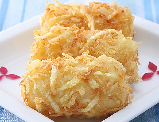 Crocchette alle doppie patate e barbabietola