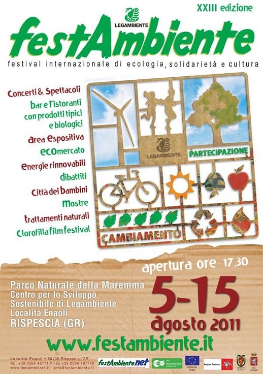 Manifesto festambiente 2011