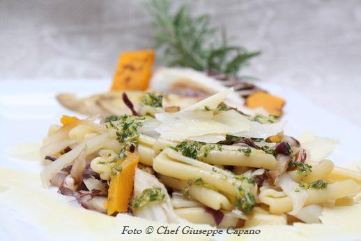 Caserecce con verdure autunnali