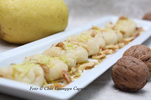 Gnocchi limone noci