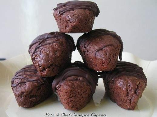Pasticcini saraceni al cacao e cioccolato