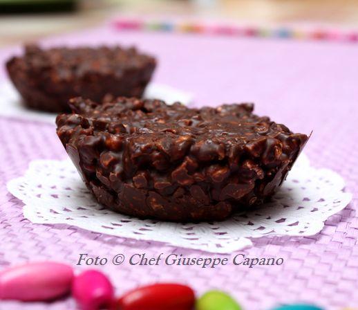 Tortine di cioccolato merendose