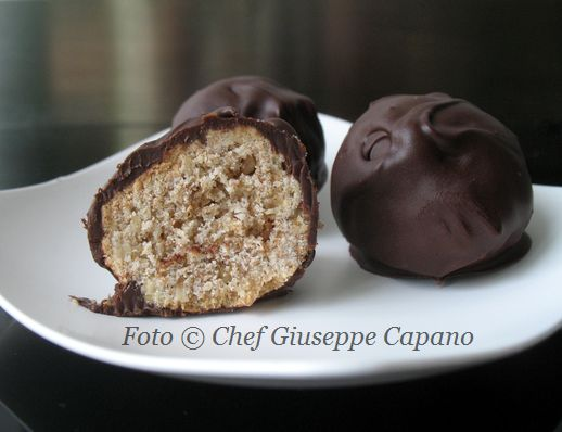 Bocconcini integrali ricoperti al cioccolato
