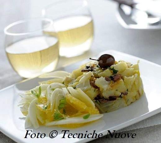 Crudo e cotto di finocchi alle olive e arancia 518