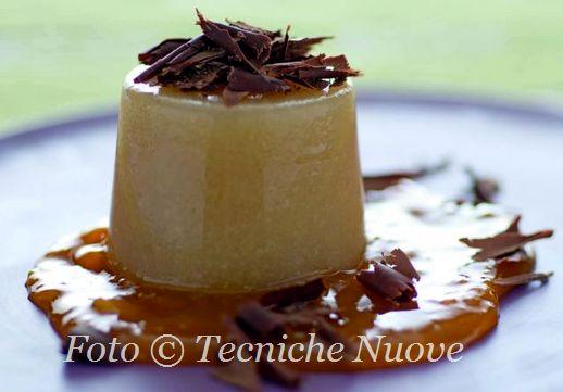 Dessert di pere all'anice stellato con salsa di cachi 518