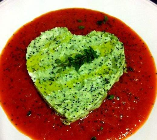 Cuoricini di broccoletti coroncina 518